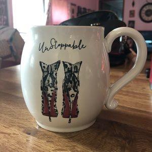 Unstoppable heel mug